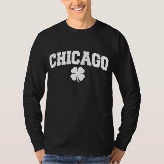 Camiseta Chicago (trevo irlandês)