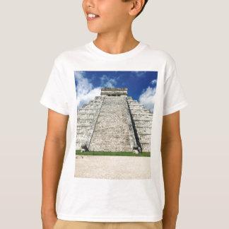 Camiseta Chichen Itza pela fotografia de Kimberly Turnbull