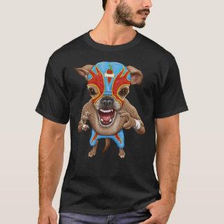 Camiseta Chihuahua - lutador mexicano