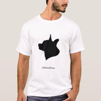 Camiseta Chihuahua - silhueta preta