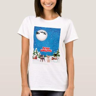 Camiseta Chihuahuas do Feliz Natal