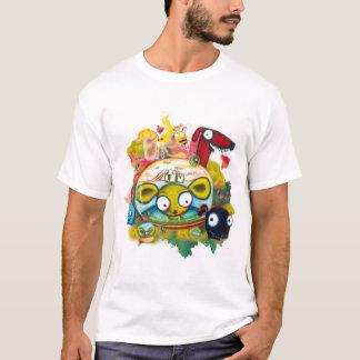 Camiseta Chihuahuas no t-shirt de Aleloop do espaço