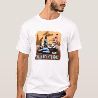 Camiseta Chillin com meu Gnomies