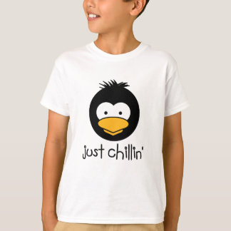 Camiseta chillin do pinguim apenas