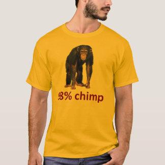 Camiseta chimpanzé de 98%