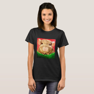 Camiseta Chinchila Chinchilling em um Tshirt do Hammock