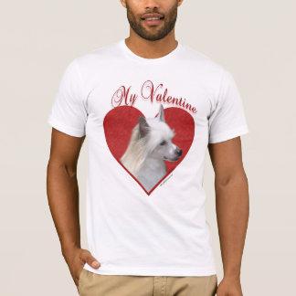 Camiseta Chinês Crested meus namorados