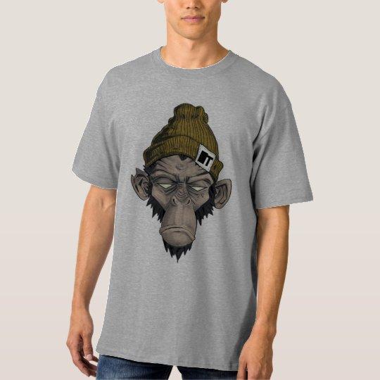 Camiseta chinpanze badass