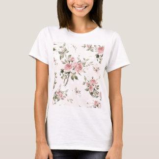 Camiseta Chique, chique francês, vintage, floral, rústico,