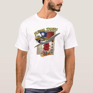 Camiseta Chit do sangue de Flying Tigers P-40