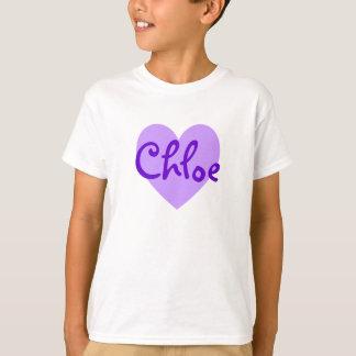 Camiseta Chloe no roxo