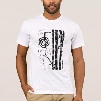 Camiseta Cho Ku Rei e bambu
