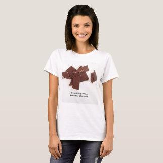 """Camiseta """"Chocolate """""""