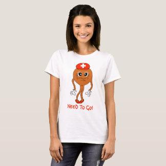 """Camiseta chocolate """"engraçado"""" """" do """"suíço"""" dos """"emojis"""" do"""