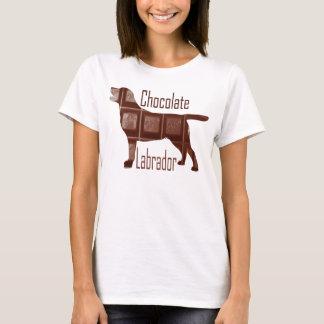 Camiseta Chocolate Labrador