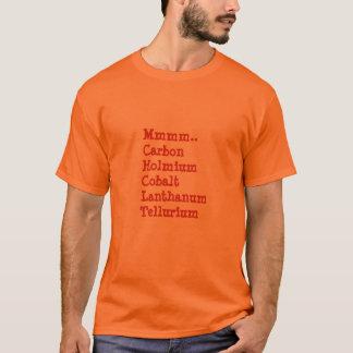 Camiseta … Chocolate Mmmm. Estilo da química