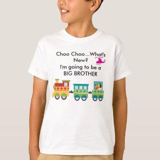 Camiseta Choo Choo o que é anúncio novo T-Shir da gravidez