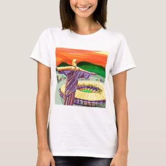 Camiseta Christ The Redemer and Maracanã Stadium - Rio - Br