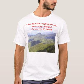 Camiseta Christy na fuga da cimeira
