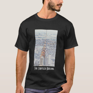 Camiseta Chrysler que constrói o t-shirt preto
