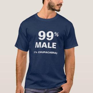 Camiseta Chupacabra do homem 1% de 99%