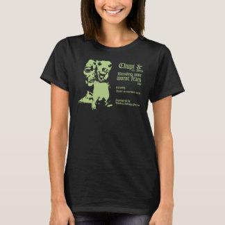 Camiseta Chupi e o camisa-Womens da excursão dos aliens