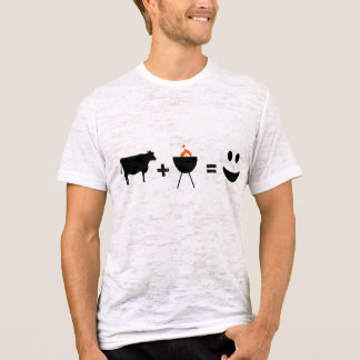 Camiseta churrasco da vaca feliz