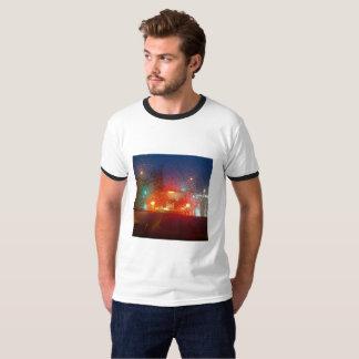 Camiseta Chuva e faróis