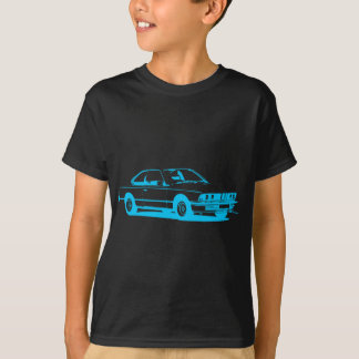 Camiseta Ciano claro clássico de BMW