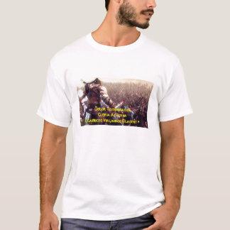 Camiseta Cicatrizes da escavação dos pintinhos