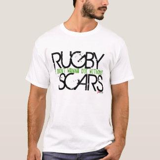 Camiseta Cicatrizes do rugby