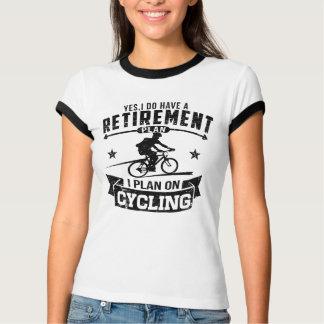 Camiseta Ciclismo do plano de aposentação