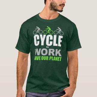 Camiseta Ciclo a trabalhar