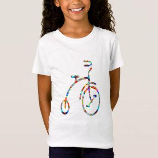 Camiseta CICLO:  Exercício, jogos, malhação, bicicleta