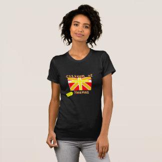Camiseta Cidadão do t-shirt do céu (3:20 dos Philippians)