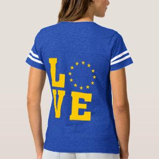 Camiseta Cidadãos da União Europeia, UE do AMOR