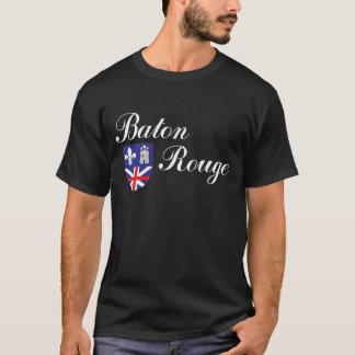 Camiseta Cidade da bandeira de Baton Rouge