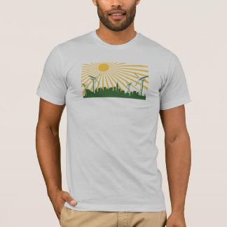 Camiseta Cidade da turbina eólica