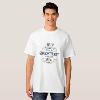 Camiseta Cidade de Gloucester, jérsei 150th Ann de N.