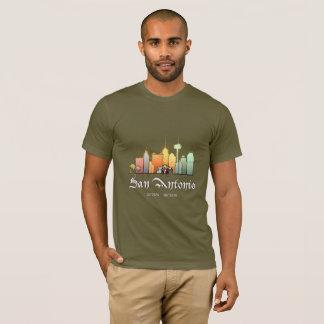 Camiseta Cidade de San Antonio