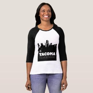 Camiseta Cidade de Tacoma Washington do t-shirt do destino