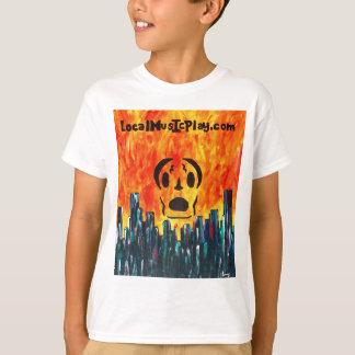 Camiseta cidade do fogo de Localmusicplay.com