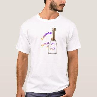 Camiseta Cidade do mundo de Londres, garrafa