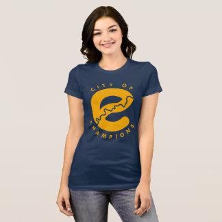 Camiseta Cidade do t-shirt dos campeões
