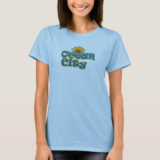 Camiseta Cidade NJ do oceano