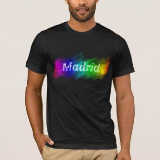 Camiseta Cidade orgulhosa de Madrid
