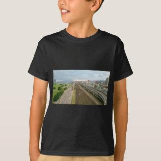 Camiseta Cidade taiwanesa e paisagem