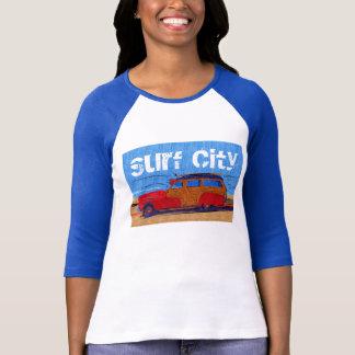 Camiseta Cidade Woodie do surf