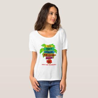 Camiseta Cidades sul de Florida