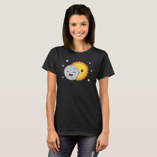 Camiseta Ciência bonito da astronomia do t-shirt do eclipse